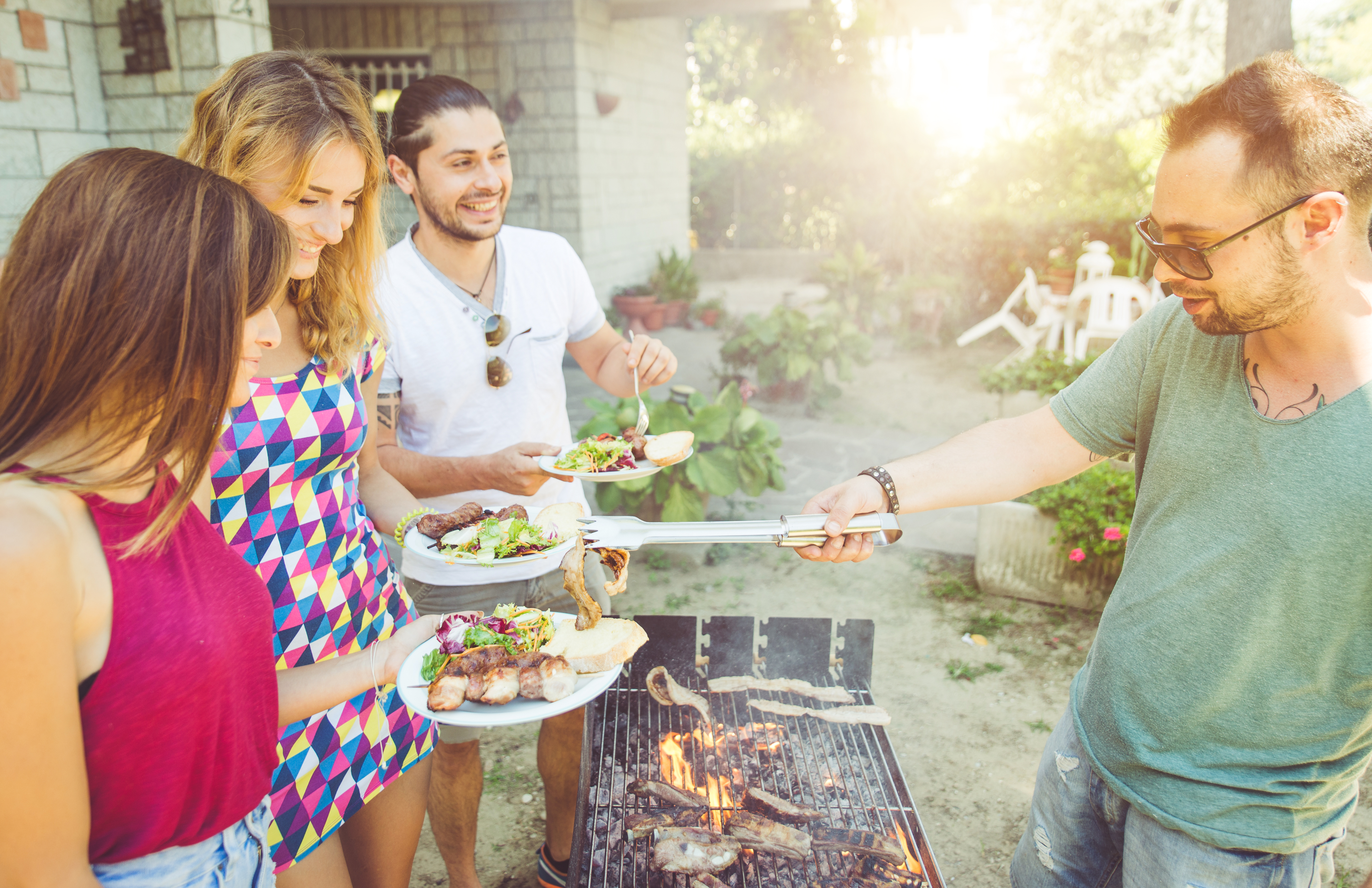 A Brief History of the Backyard BBQ
