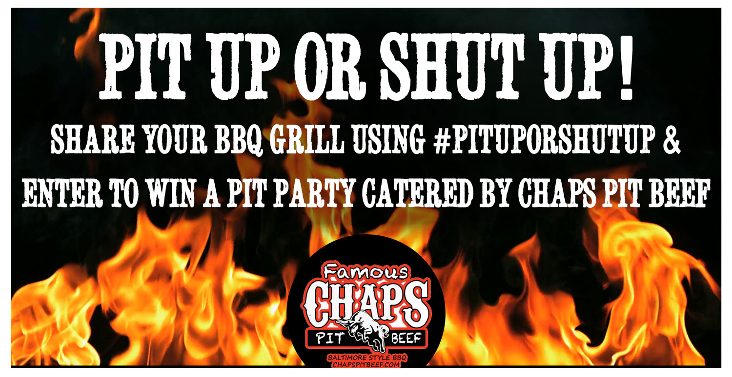 "Win a BBQ ""Pit Party"" for You & 50 Of Your Friends!"