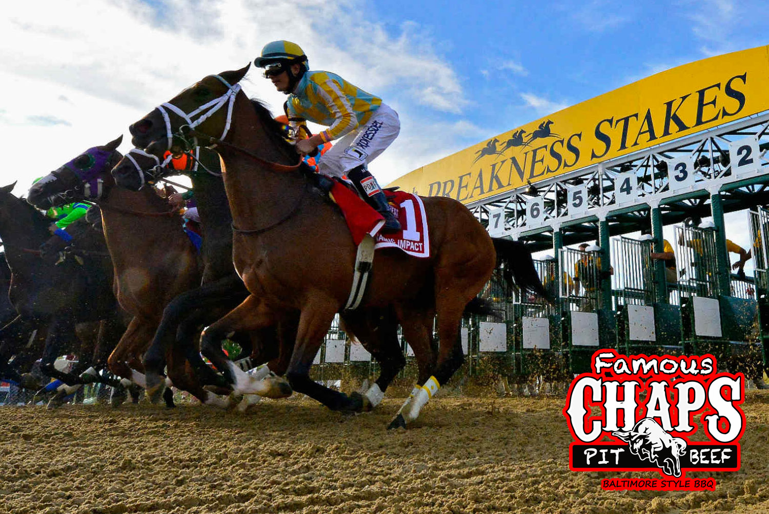 Enter the Chaps Preakness Contest & Win a Chaps Party Platter!